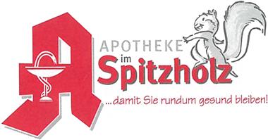 Logo der Apotheke im Spitzholz