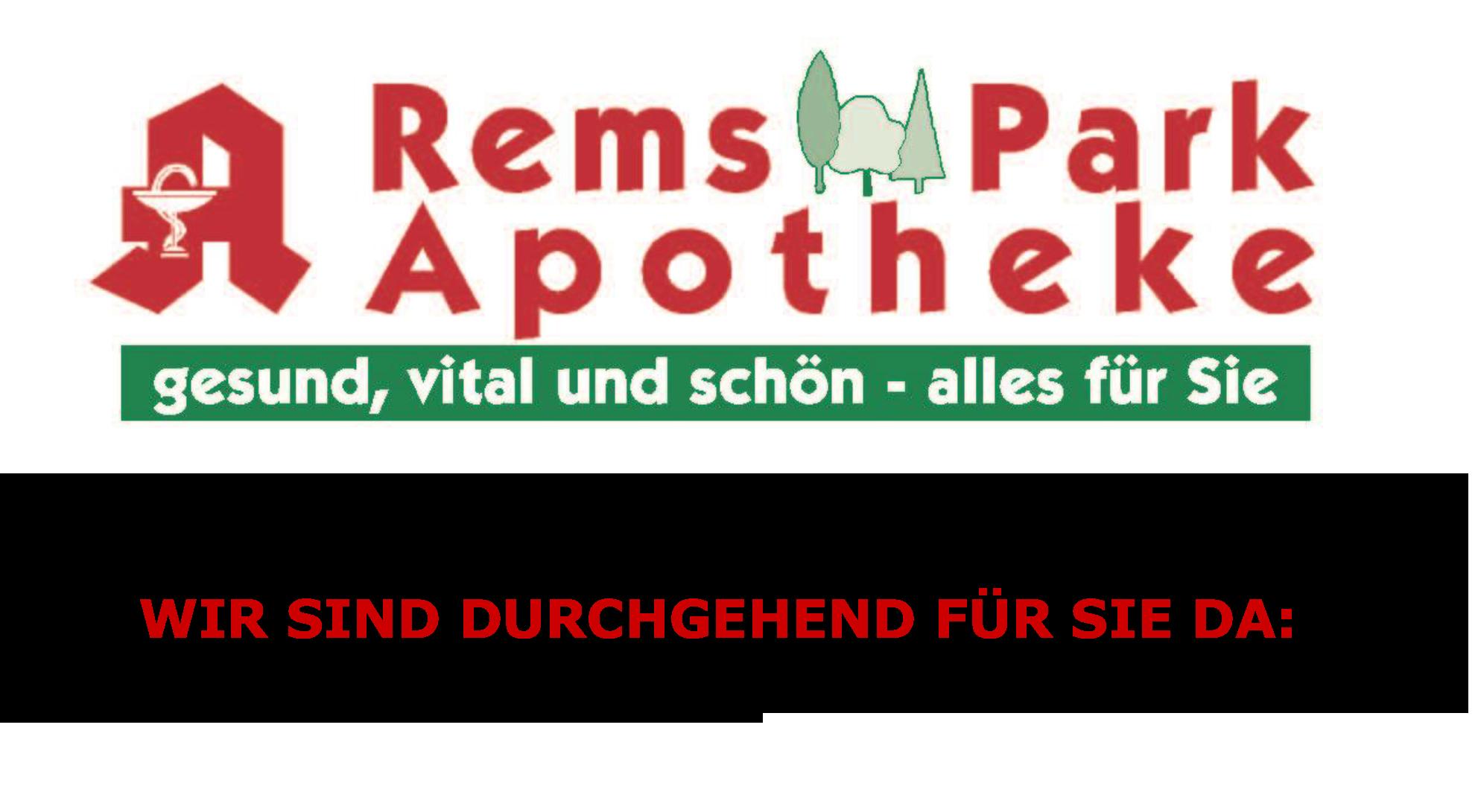 Logo der Remspark-Apotheke Waiblingen