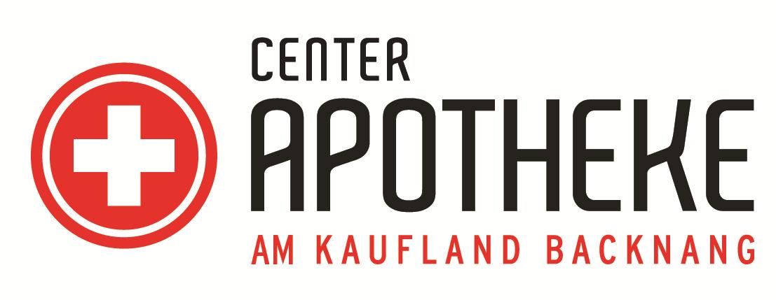 Logo der Center-Apotheke im Kaufland Backnang