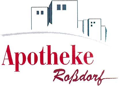 Logo der Apotheke Roßdorf im Ladenzentrum