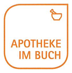 Logo der Apotheke im Buch