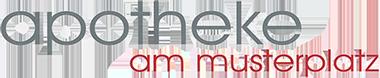 Logo der Apotheke am Musterplatz