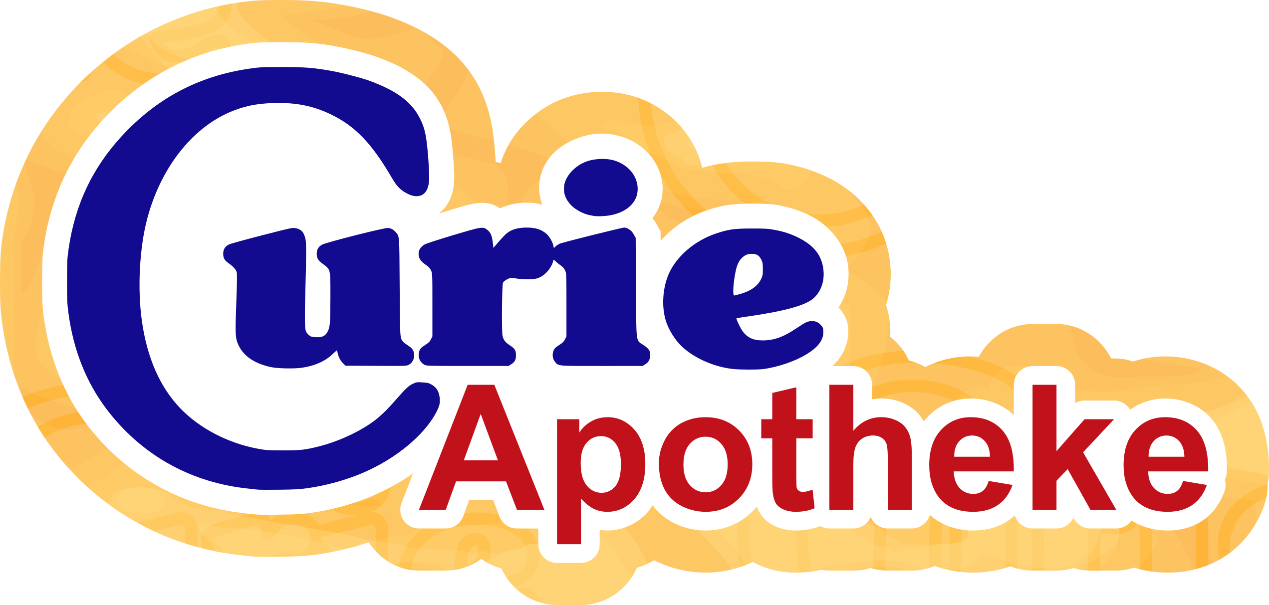 Logo der Curie-Apotheke Leopoldshafen