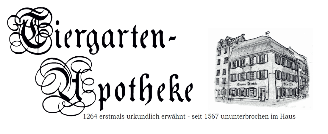 Logo der AVIE Tiergarten-Apotheke Konstanz