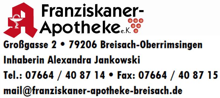 Logo der Franziskaner-Apotheke Oberrimsingen