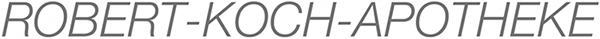 Logo der Robert-Koch-Apotheke