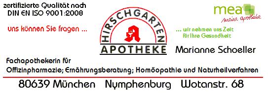 Logo Hirschgarten-Apotheke