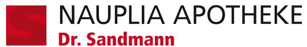 Logo der Dr. Sandmann Apothekengruppe Nauplia-Apotheke