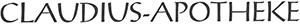Logo der Claudius-Apotheke