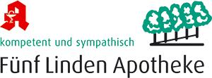 Logo der Fünf Linden Apotheke