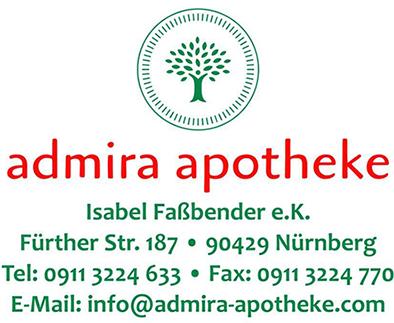 Logo der Admira-Apotheke
