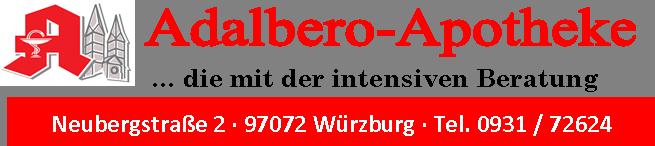 Logo der Adalbero-Apotheke