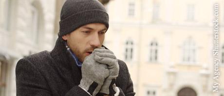Brustschmerz bei Kälte