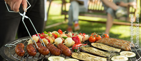 Grillparty ohne Brandblasen