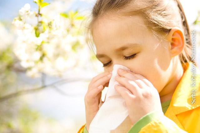 Heuschnupfen bei Kindern behandeln