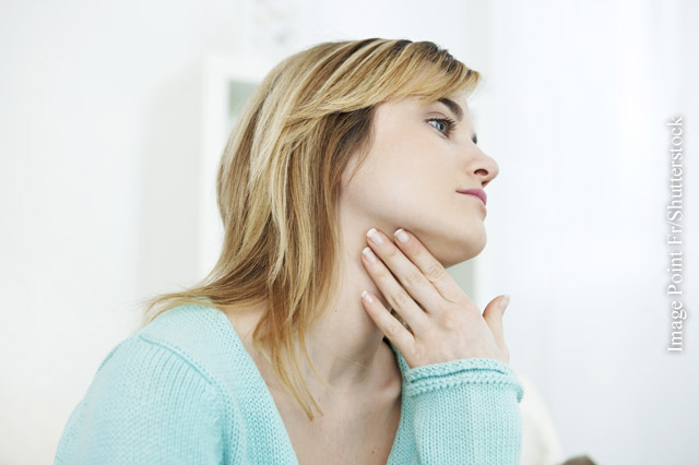 Kropf: Hals selbst kontrollieren