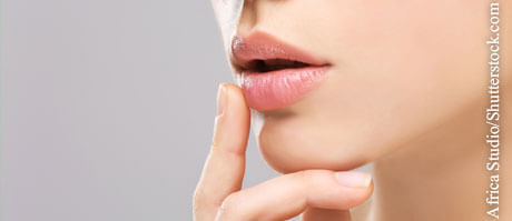 Lippenherpes selbst behandeln