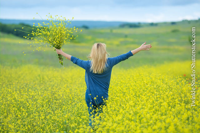 Frühlingsgefühle trotz Allergie.