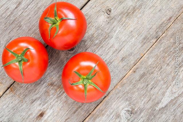 Tomaten- und Erdbeerallergie
