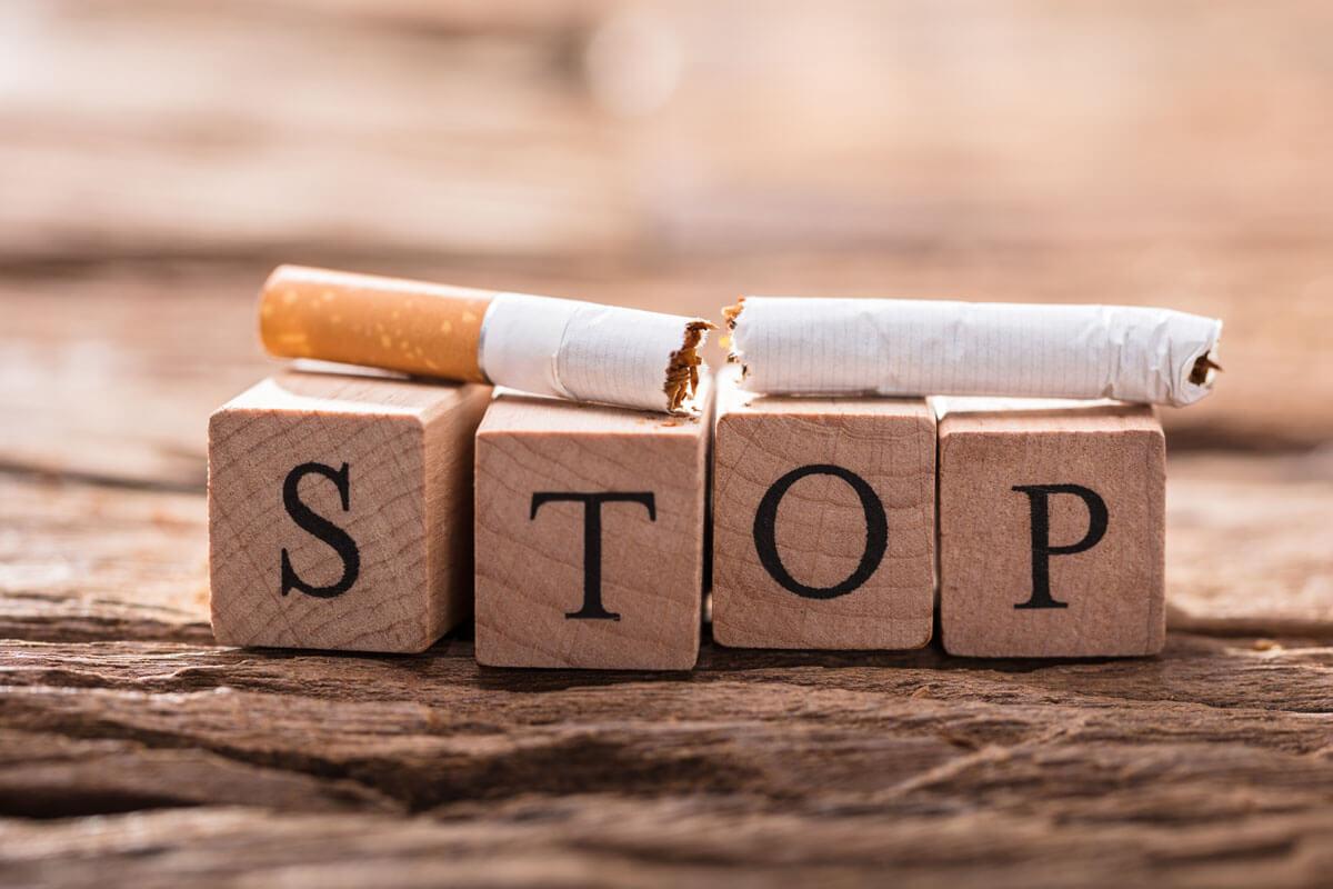 Besser mollig als Raucher
