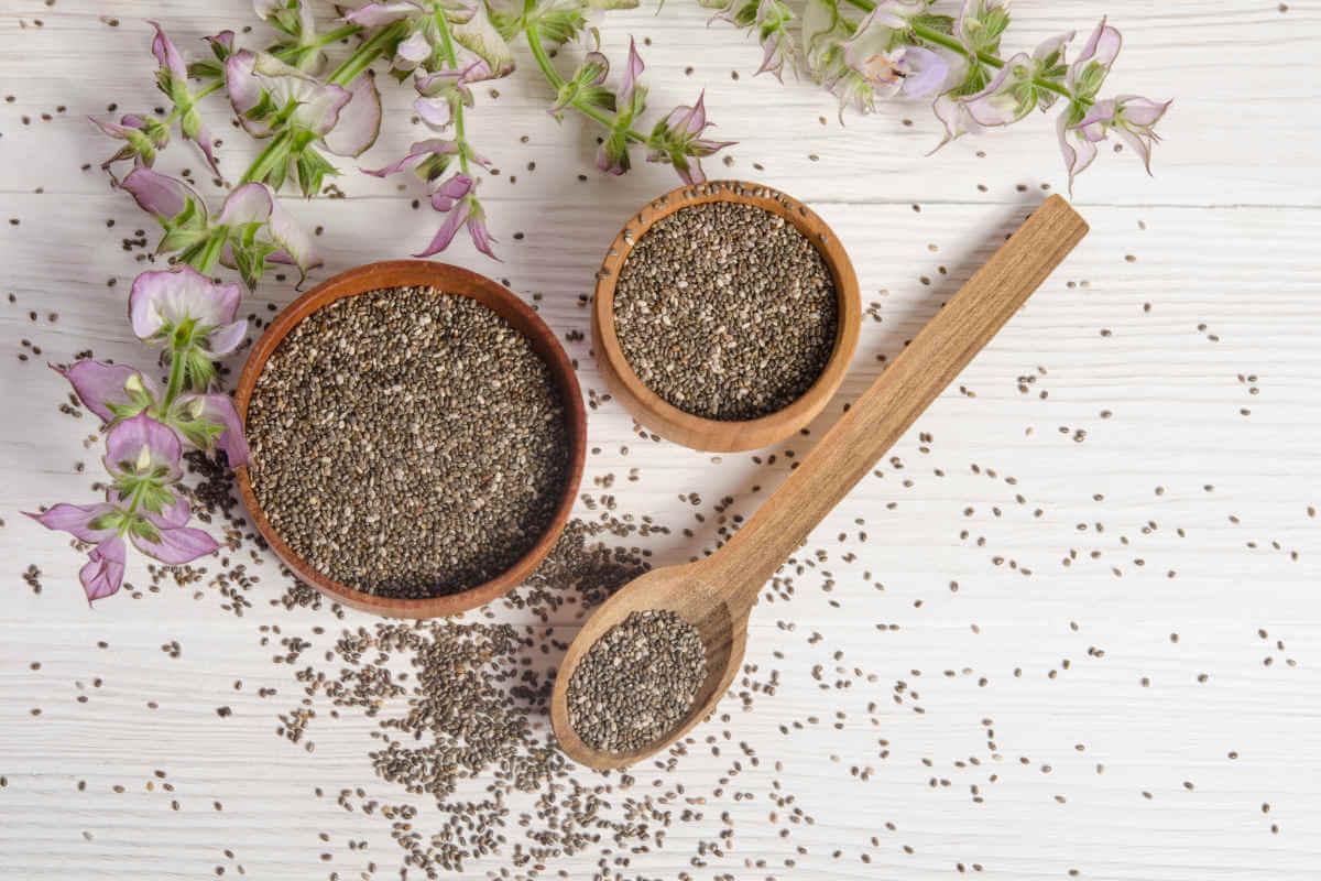 Nahrungsergänzung im Blick: Chia-Samen