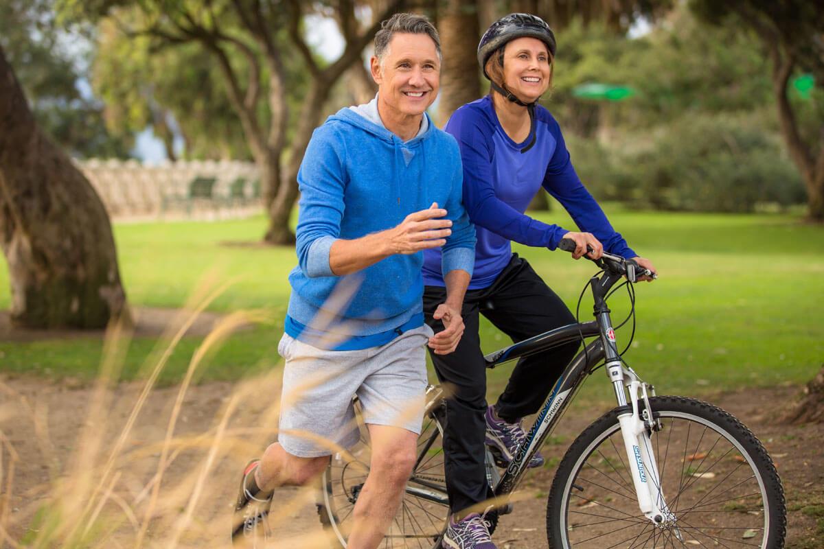 Knochenbruch im Alter vorbeugen