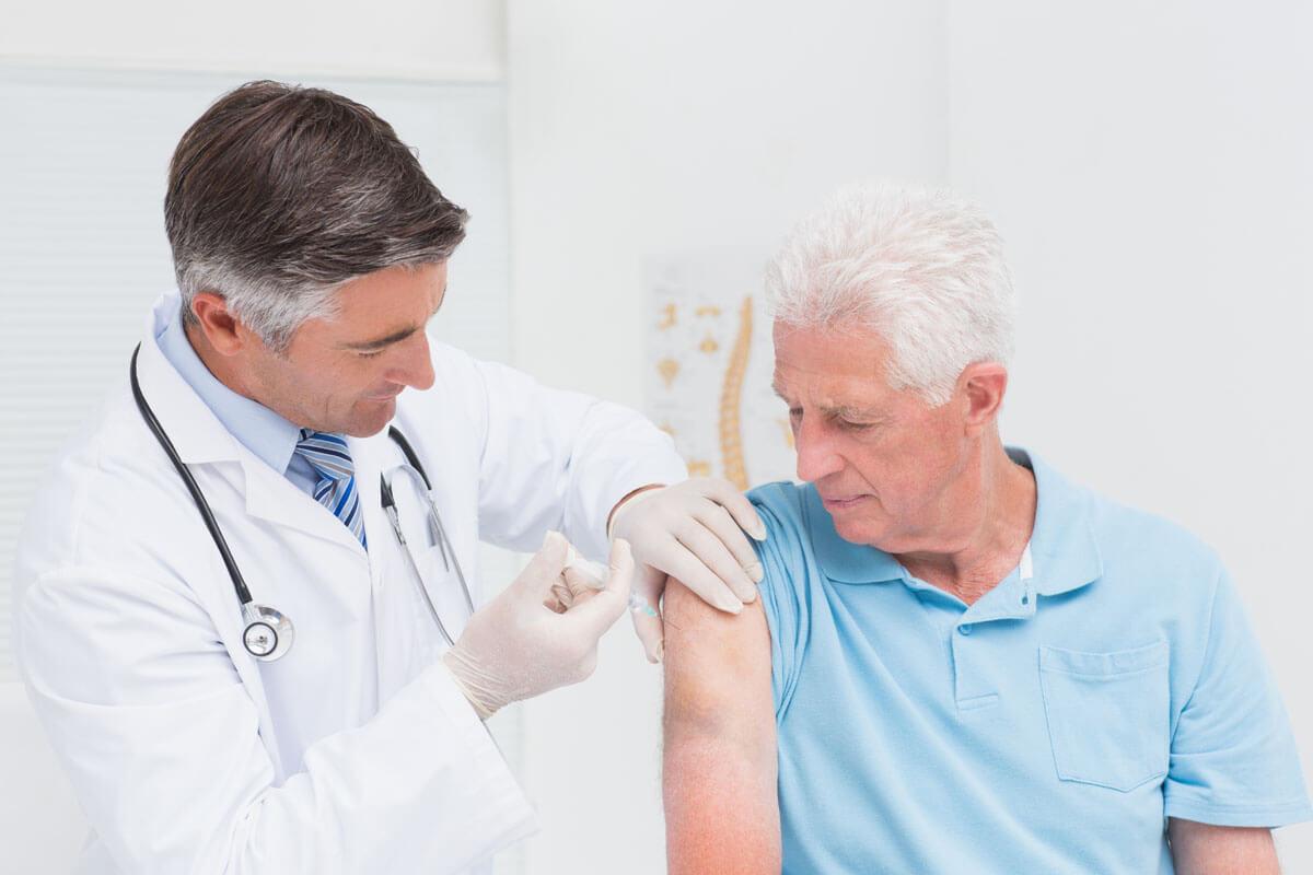 Grippeimpfung beugt Herzinfarkt vor