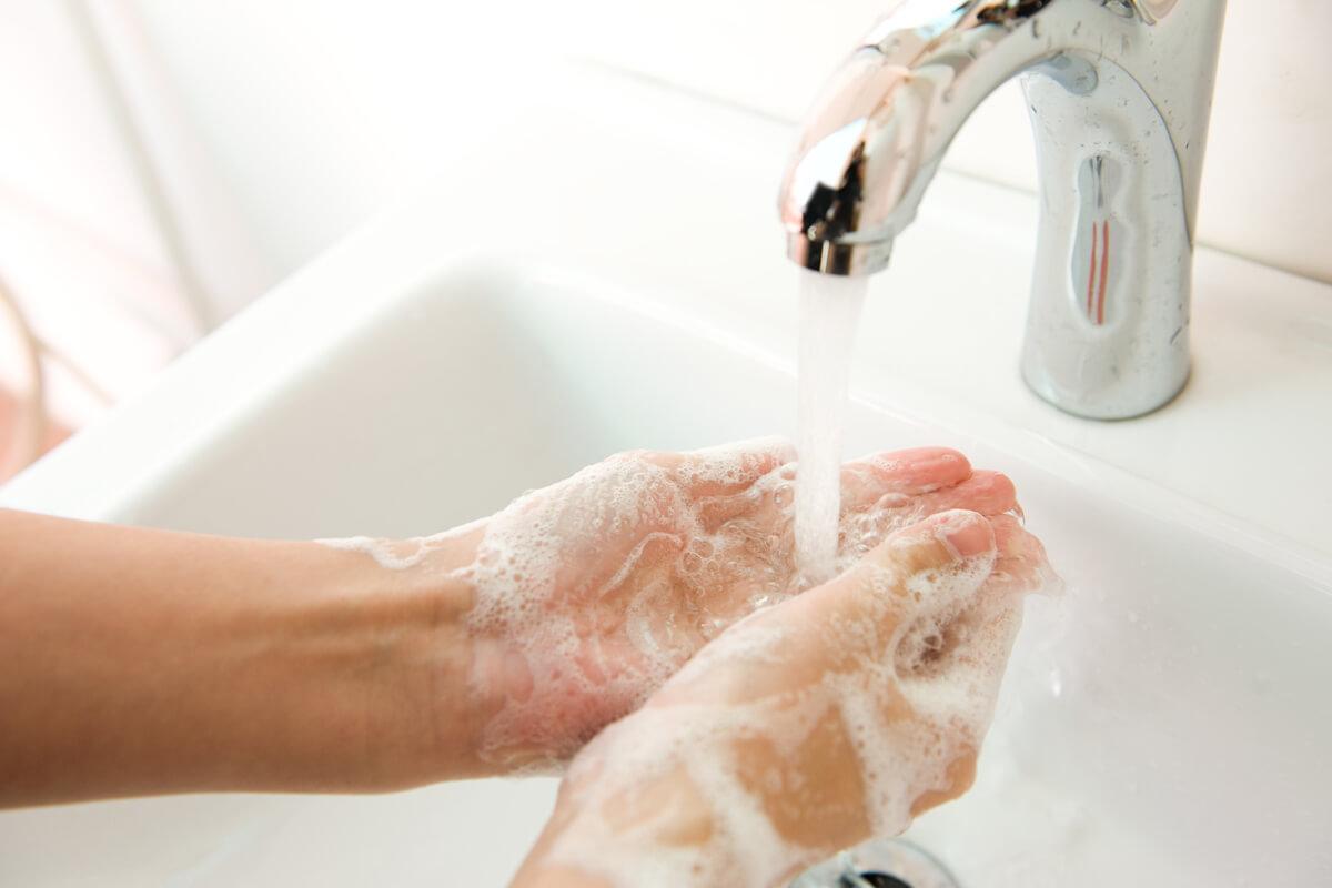 Händewaschen hält gesund