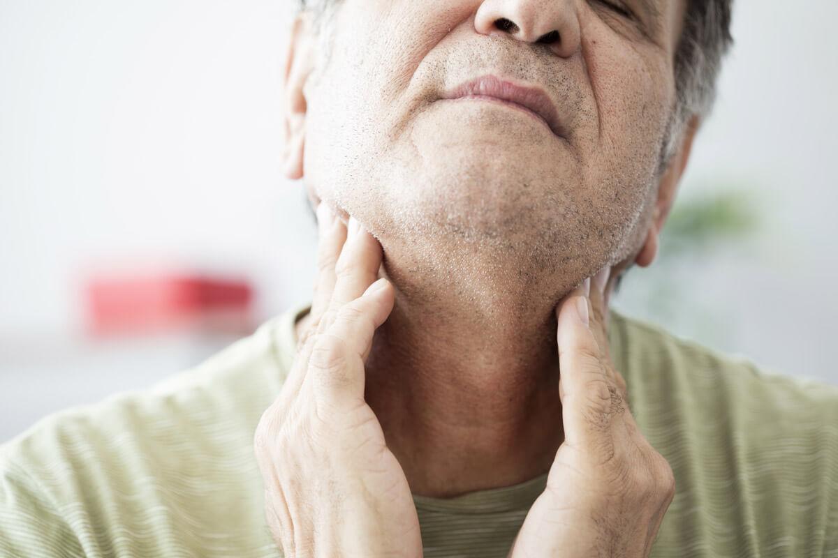 Knoten Und Schwellungen An Hals Und Nacken