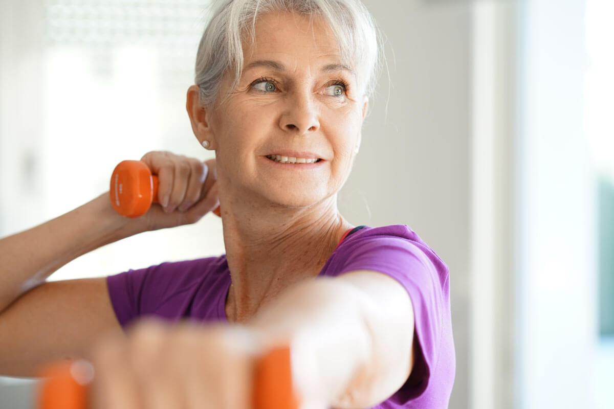 Sport auch mit Darmkrebs
