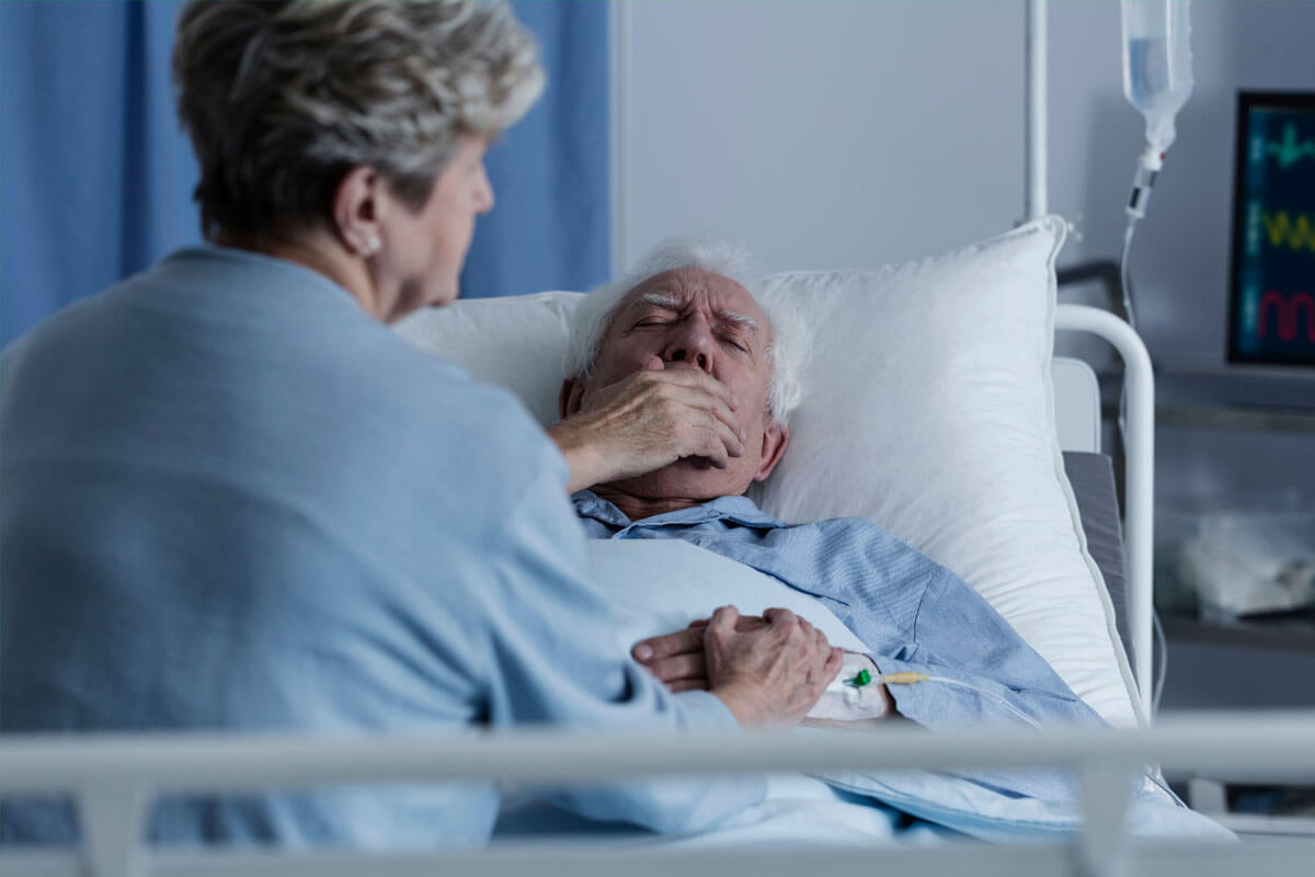 Bild Lungenentzündung bei Senioren