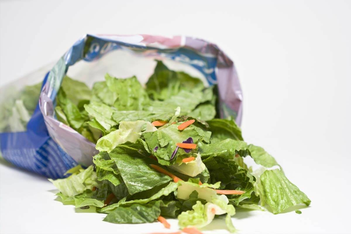 Bild Mikroplastik in der Nahrung