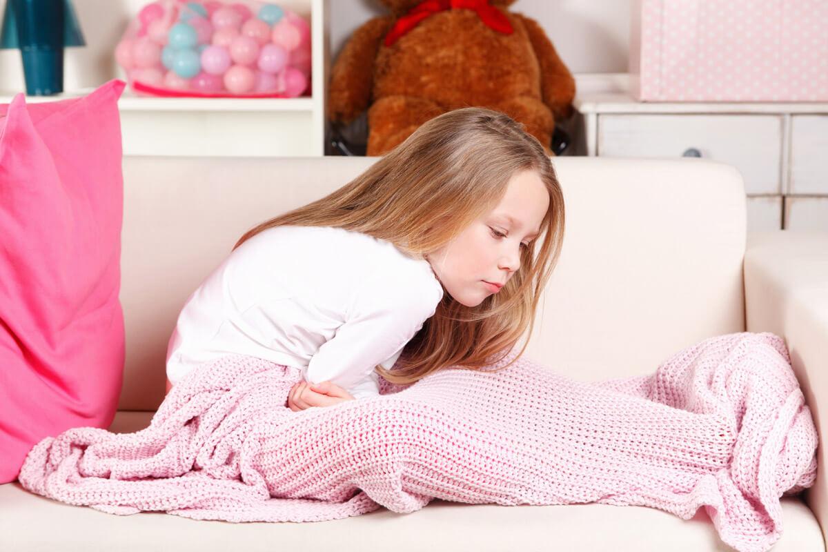 Erbrechen und Fieber bei Kindern verursachen