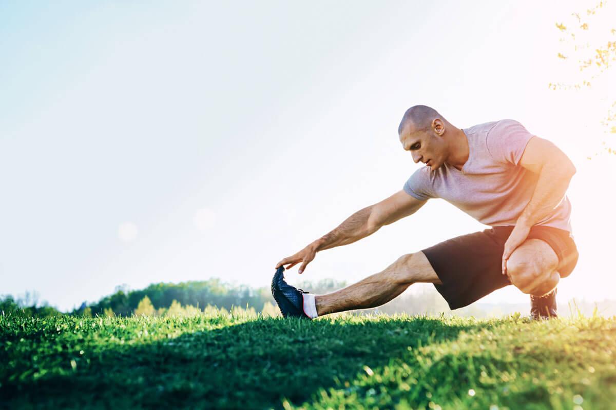 Bild O-Beine durch Leistungs-Kicken