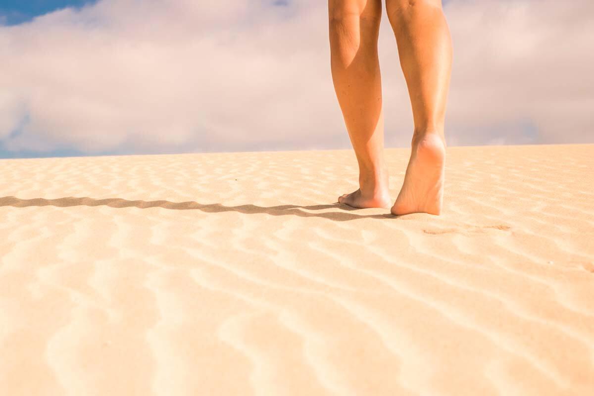 Sommerfrische für die Beine