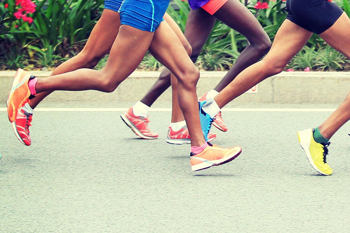 Schadet Marathonlaufen dem Knie?