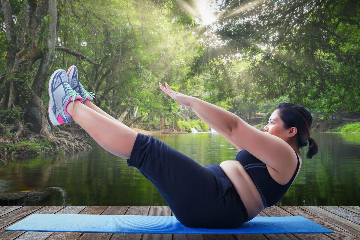 Wie viel kann ich mit Diät und Bewegung abnehmen?