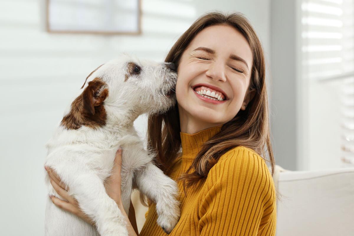 Vorsicht beim Hunde-Kuss!