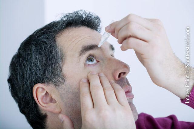 Hilfe bei trockenem Auge