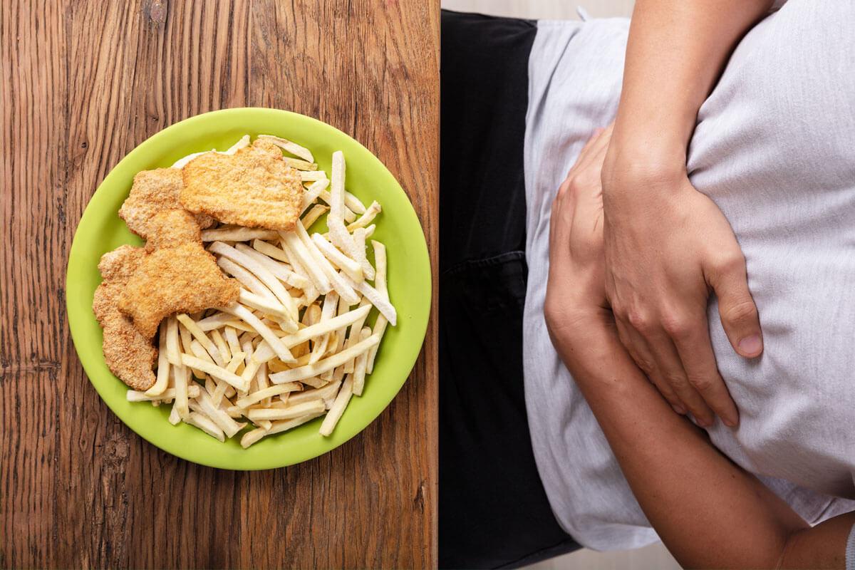 Lipothymie und plötzlicher Gewichtsverlust