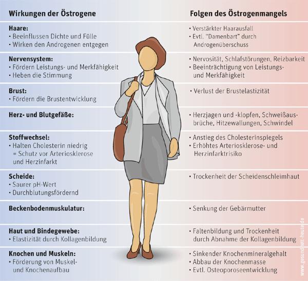 östrogene wechseljahre gewichtszunahme