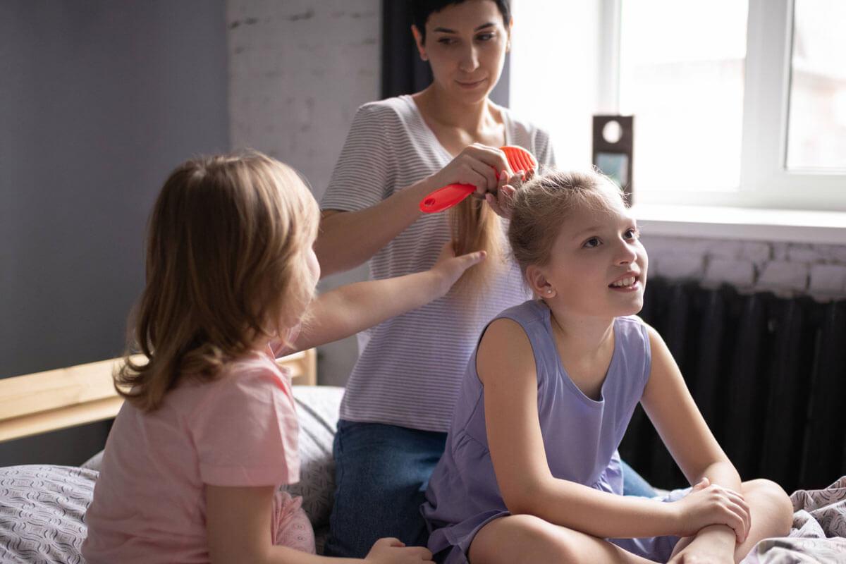 Haarausfall bei Kindern abklären!