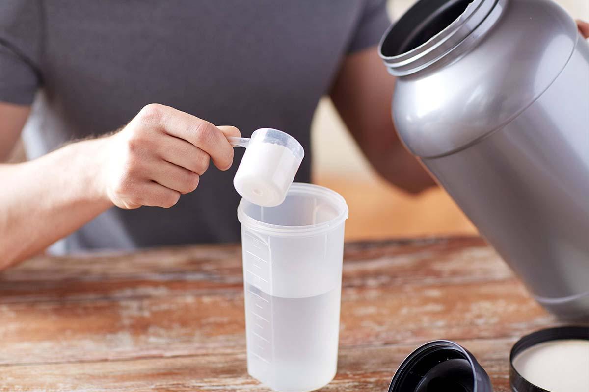 Protein-Shakes meist überflüssig