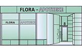 Flora-Apotheke am Bahnhof Neumünster Logo