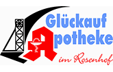 Glückauf-Apotheke im Rosenhof Peine Logo