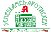 Scherlamed Äskulap-Apotheke Halberstadt Logo