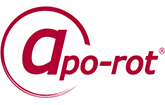 apo-rot Apotheke am Theater Magdeburg Logo