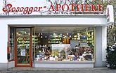 Rosegger-Apotheke Frankfurt Logo