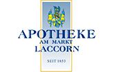 Apotheke am Markt Plochingen - seit 1853 Dieter Laccorn, Pächter: Eberhard Laccorn Plochingen Logo