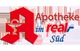 Apotheke im real,- Süd München Logo